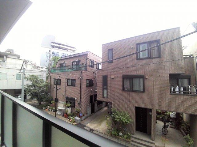2階からの眺望です。【プライマルシティ神楽坂】