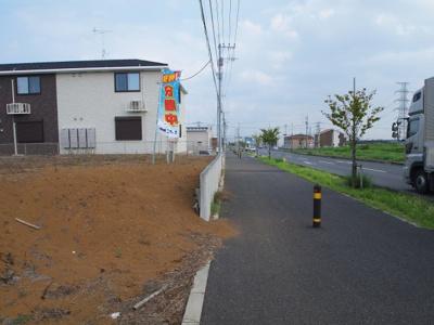 【前面道路含む現地写真】みどりの東7番地 4