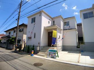新京成線「三咲」駅徒歩17分の全2棟の新築一戸建てです。