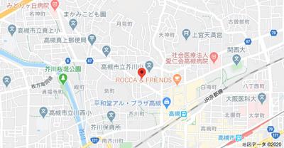 【地図】ローズハイツ (株)Roots
