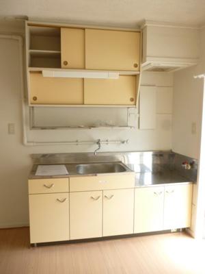【キッチン】ビレッジハウス稲枝