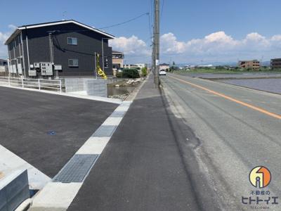 【外観】筑後市長浜7区画分譲地