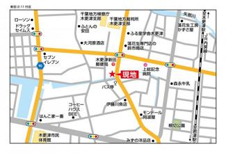 木更津駅徒歩圏約70坪の土地で平坦地。ライフライン充実!病院、コンビニ小学校も近いです。