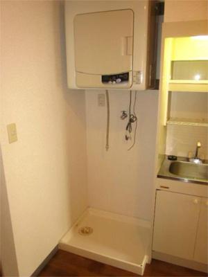 室内洗濯機置き場、衣類乾燥機、