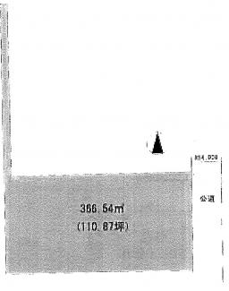 敷地366.54㎡(110.87坪)