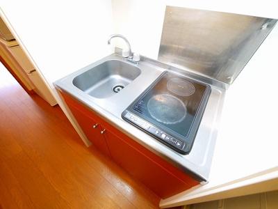 【キッチン】レオパレスグランディール