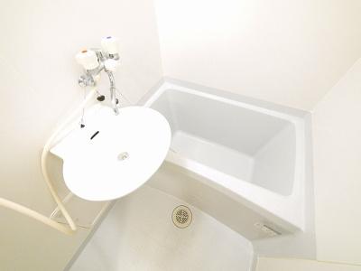 【浴室】レオパレスグランディール
