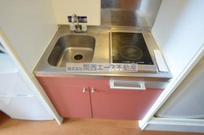 【キッチン】レオパレスクレール
