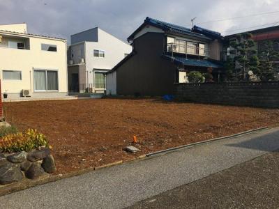 【前面道路含む現地写真】長浜市平方町 土地