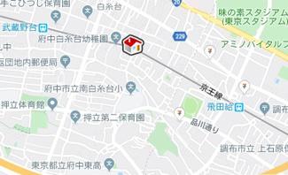 【地図】レオパレスブランフィル(38533-201)
