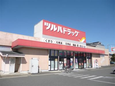 ツルハドラッグ 愛知川店(75m)