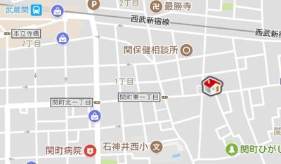 【地図】レオパレスイーストヒルズ(37685-202)