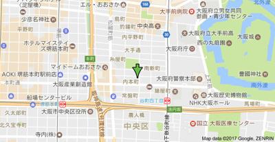 【地図】アーバネックス大手前