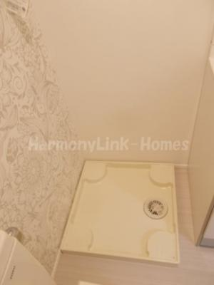 ハーモニーテラス足立の室内洗濯機置き場