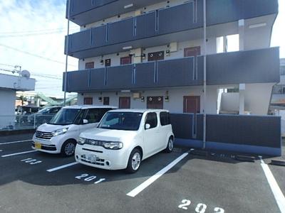 【駐車場】K-CUBE