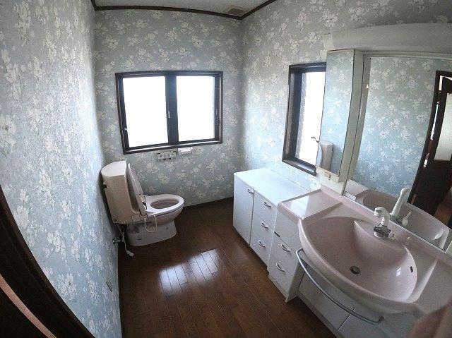 【洗面所】南区平和1丁目戸建