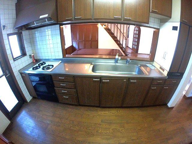 【キッチン】南区平和1丁目戸建