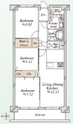 【完成予想図】ファミリータウン東陽 G棟 8階 リ ノベーション済