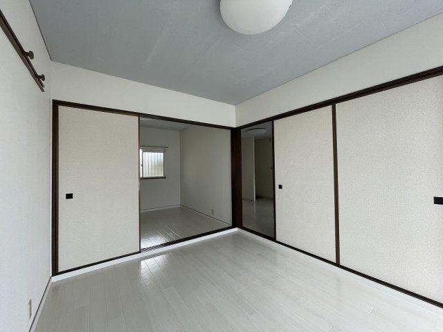 【寝室】秋山コーポ