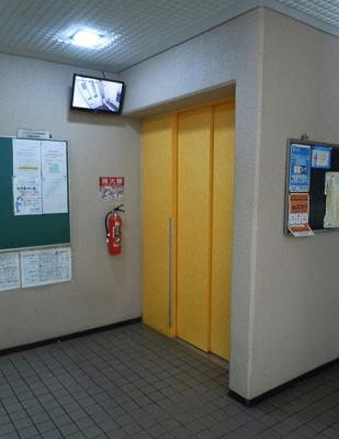 エレベーター完備!防犯カメラ完備!