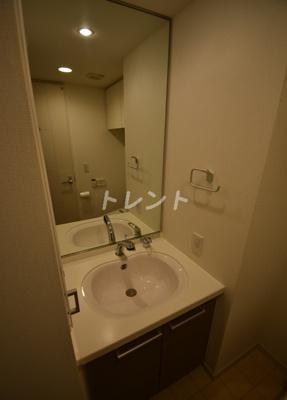 【洗面所】麻布十番レジデンス