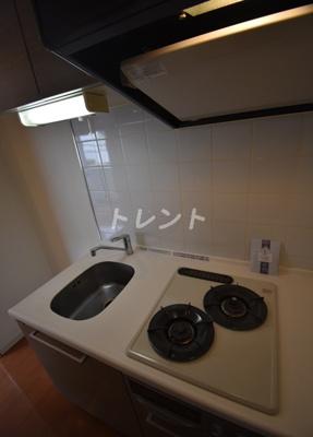 【キッチン】麻布十番レジデンス