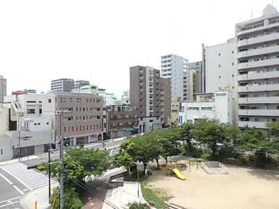 【展望】パークサイド上本町駅前