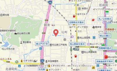 【地図】ホワイトハーツ