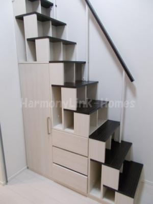 NanoIro Cuoreの収納付き階段☆(別部屋参考写真)