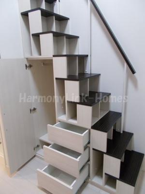 NanoIro Cuoreの収納付き階段②☆(別部屋参考写真)