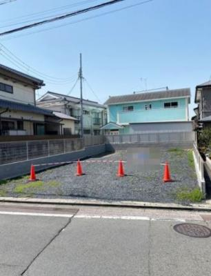 【外観】伏見区醍醐東合場町 建築条件無土地