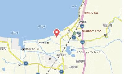 【地図】シーサイドコート
