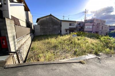 【外観】伏見区醍醐西大路町 注文建築 建築条件なし 土地