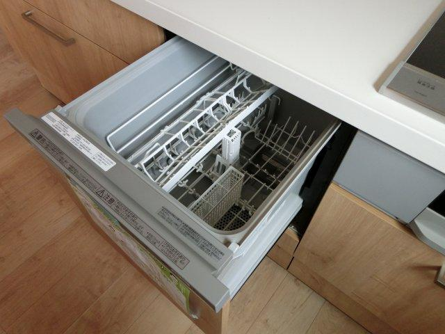 食洗機が備え付き!