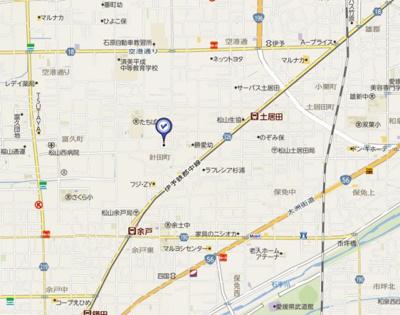 【周辺】メゾネット針田Ⅱ