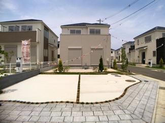 新京成線「二和向台」駅徒歩16分の全12棟の新築一戸建てです。
