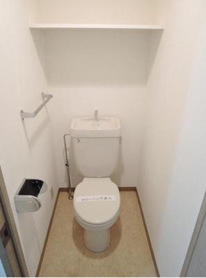 プレール東池袋の落ち着いたトイレです