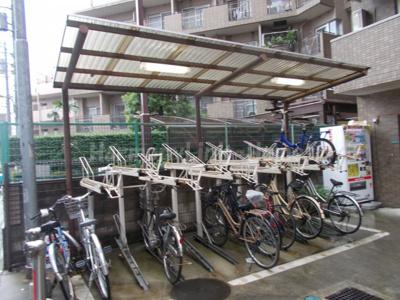 プレール東池袋の駐輪スペース☆