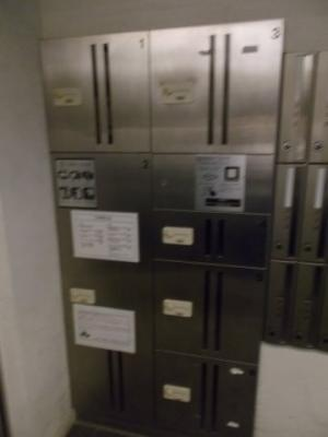 AQUA TOKYO NORTHCITYの宅配ボックス☆