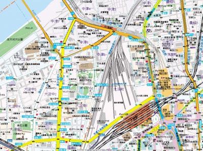 【地図】ハイムラポール PartXⅡ