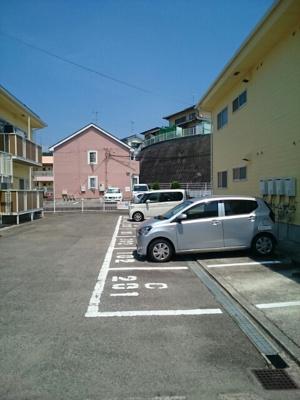 【駐車場】ドミールハイツⅢ・