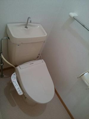 【トイレ】ドミールハイツⅢ・