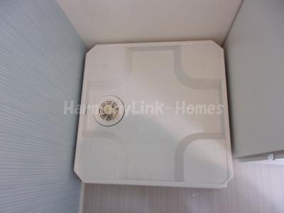 ハーモニーテラス足立Ⅱの室内洗濯機置き場