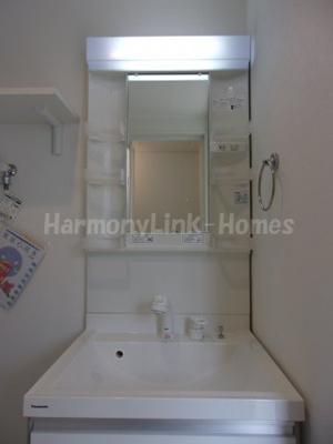 ハーモニーテラス足立Ⅱの独立洗面台