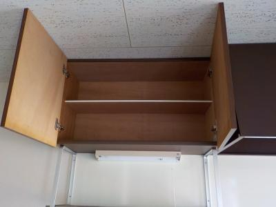 キッチンの上の収納