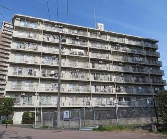 外観です 多摩川サンハイツ 京急川崎駅徒歩13分 2LDK 1982年11月築 広々としたLDK 南側バルコニーつき陽当り良好