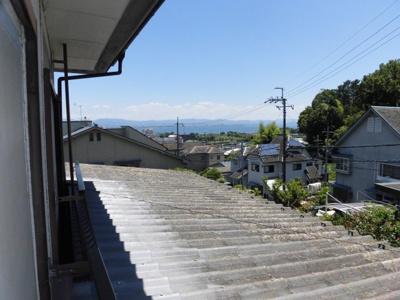 物件から琵琶湖が見えます