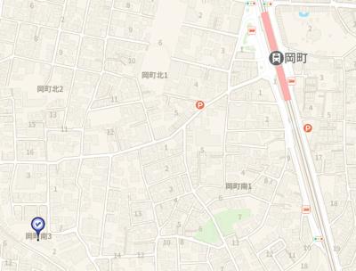 【地図】ボヌール豊中