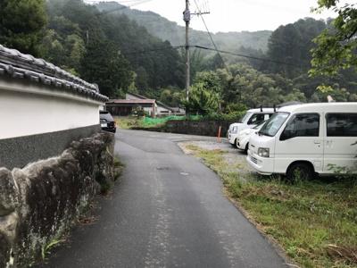 【前面道路含む現地写真】那珂川市大字西畑土地