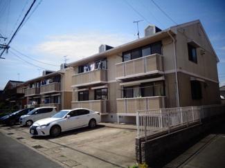 【外観】中川区戸田三丁目2棟アパート